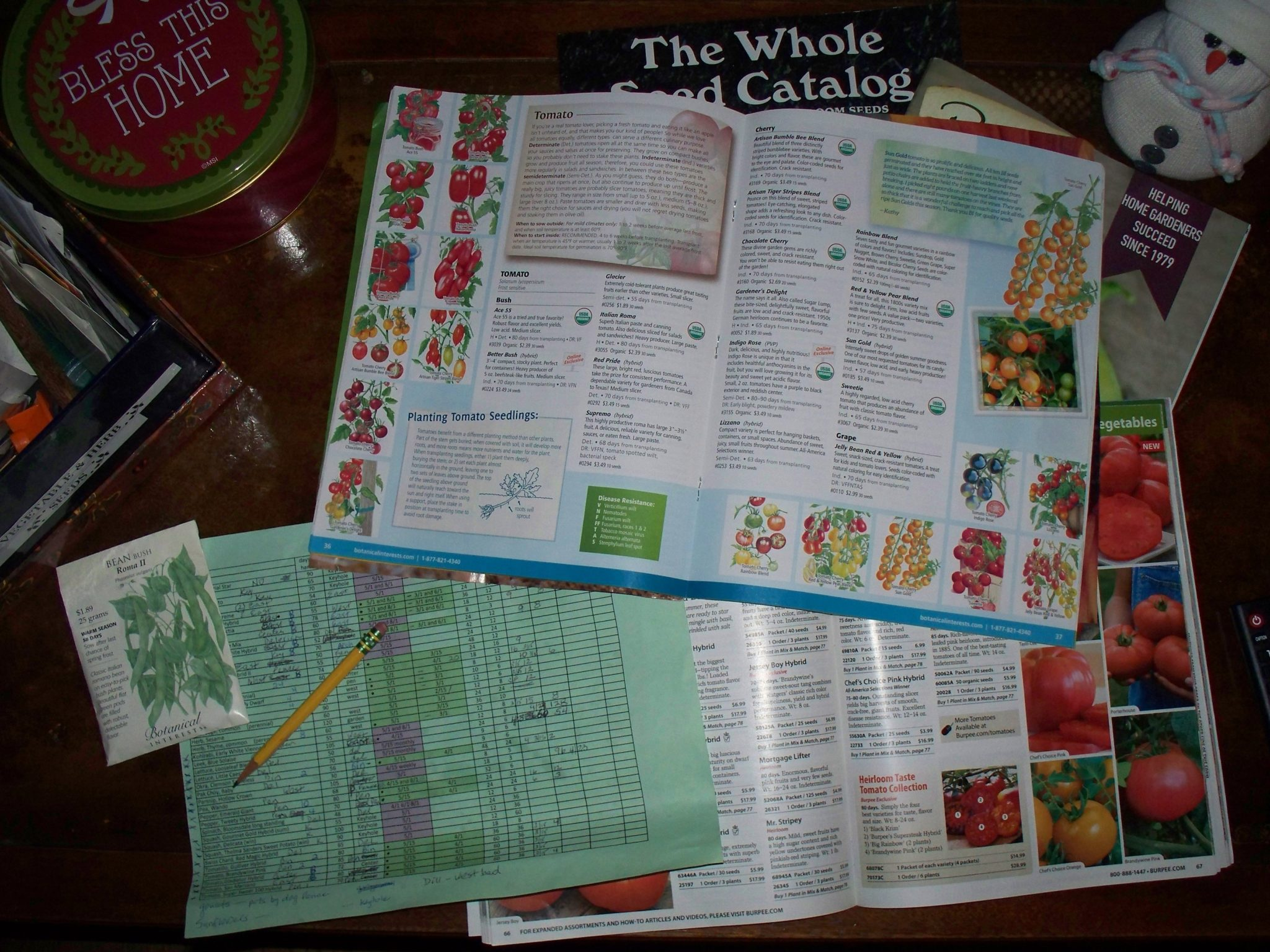 Seed catalogs!